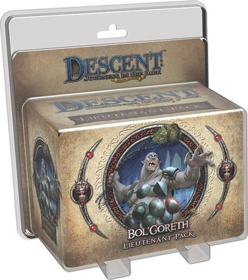 Descent (2nd Ed): Bol'Goreth Lieutenant Pack