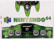 Nintendo 64 Console (N64) Jungle Green