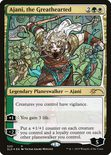 Ajani, the Greathearted - Secret Lair Drop Promos