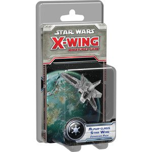 Star Wars X-Wing Miniatures Game: X-Wing Alpha-class Star Wing Expansion Pack