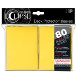 Ultra Pro Sleeves Eclipse Yellow (80pcs)