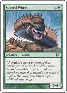Spined Wurm - 8th Edition