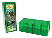 Dragon Shield Deck Box, 4 Compartment, Green