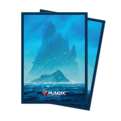 Unstable Lands Standard Deck Protector Sleeves Island (100ct)