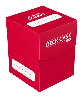 Ultimate Guard Deck Box, 100+ Red