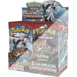 Pokemon SM4: Sun & Moon Crimson Invasion Booster Half Box