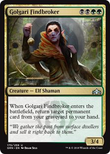 Golgari Findbroker - Guilds of Ravnica