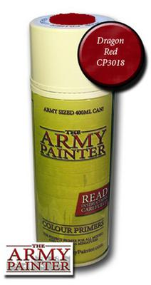 Army Painter Spray, Dragon Red