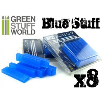 GWS Blue Stuff: Instant Reheatable Mold (8pcs)