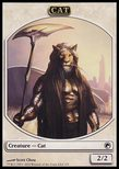 Cat TOKEN 2/2 - Scars of Mirrodin