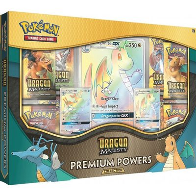 Pokemon Dragon Majesty Premium Powers Collection Box