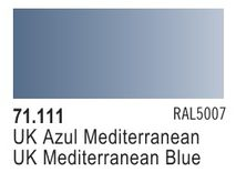 Vallejo Model Air: UK Mediterranean Blue 71.111