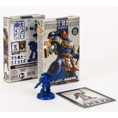 Space Marine Heroes Booster