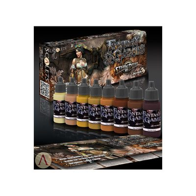 Scale75 Steam and Punk Paint Set
