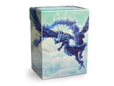 Dragon Shield Deck Shell 80+ Celeste Blue