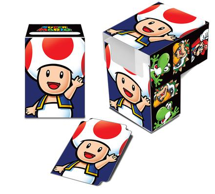 Ultra Pro Deck Box: Super Mario - Toad