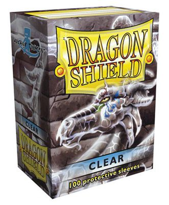Dragon Shield Sleeves Clear (100pcs)