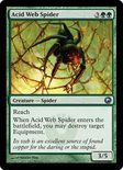 Acid Web Spider - Scars of Mirrodin