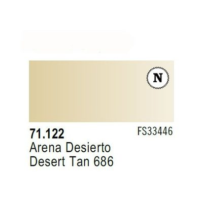 Vallejo Model Air: Desert Tan 686 71.122