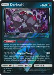 Darkrai Prism Star 77/156 - Sun & Moon Ultra Prism
