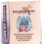 Final Fantasy Tactics Advance (Manual)