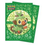Ultra Pro Pokemon Deck Protector Sleeves Sword & Shield Galar Starters Grookey (65ct)