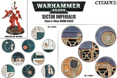 Warhammer 40,000: Sector Imperialis 25mm & 40mm Round Bases