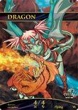 Dragon TOKEN Custom 4/4 (tokensformtg.com) - tokensformtg.com