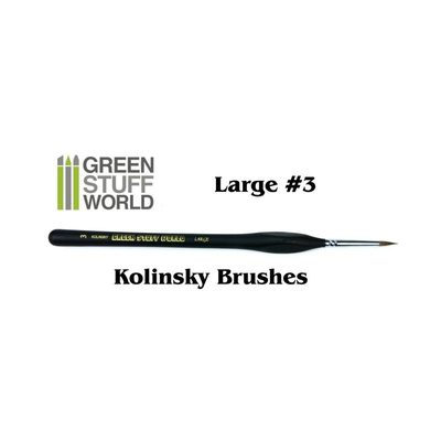 GSW Natural Kolinsky Brush: Large 3