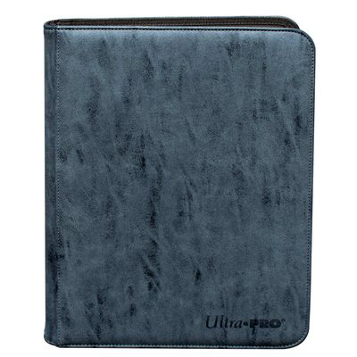 Ultra Pro Suede Collection Zippered 9-pocket Pro Binder Sapphire