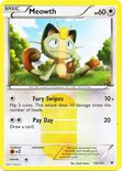 Meowth Secret Rare 102/101 - Black & White 3: Noble Victories