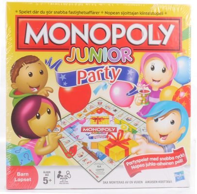 Monopoly Junior Party (FI/SV)