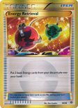 Energy Retrieval Secret Rare 99/98 - X&Y Ancient Origins