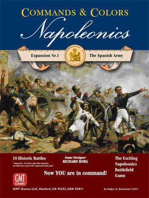 Commands & Colors Napoleonics: Expansion #1 - The Spanish Army
