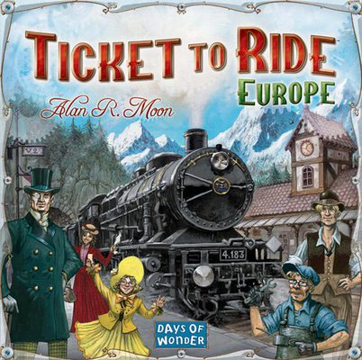 Ticket to Ride Eurooppa (FI/SE/NO/DK)