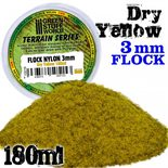 GSW Static Grass Flock 3mm: Dry Yellow (180ml)