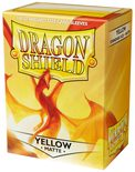 Dragon Shield Sleeves Matte Yellow (100ct)