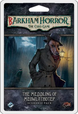 Barkham Horror: The Card Game - The Meddling of Meowlathotep (PREORDER)