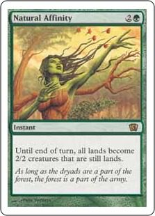 Natural Affinity - 8th Edition