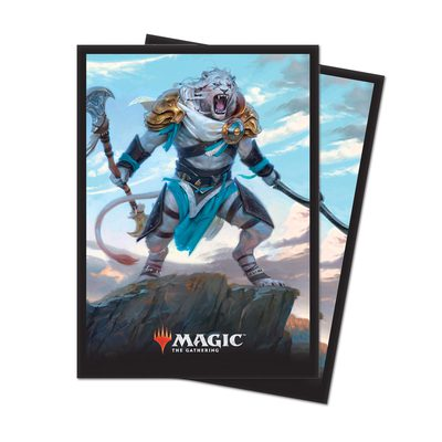 Ultra Pro MTG Core Set 2019 Deck Protector Standard Sleeves: Ajani, Adversary of Tyrants Bundle (10x, 80ct)