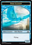 Bird Illusion Token 1/1 - Guilds of Ravnica
