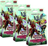 Yu-Gi-Oh Structure Deck: Powercode Link 3x Bundle