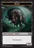 Beast TOKEN  3/3 (Deathtouch) - Magic 2015