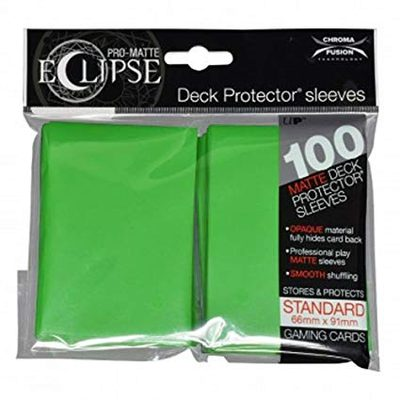 Ultra Pro Sleeves Eclipse Lime Green (100pcs)