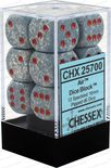 Chessex Dice Set 12xD6 16mm, Air