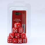 Blackfire Dice Set (15xD6 16mm, Opaque Red)