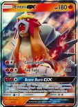 Entei GX 10/73 - Sun & Moon Shining Legends