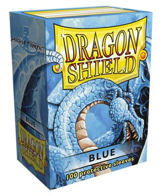 Dragon Shield Sleeves Standard Size Blue (100ct)