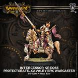Protectorate of Menoth Cavalry Epic Warcaster Intercessor Kreoss