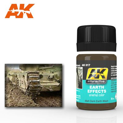 AK Interactive Enamel Color: Earth Effects 35ml